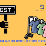 GST rate for clothing, apparel and textile in India